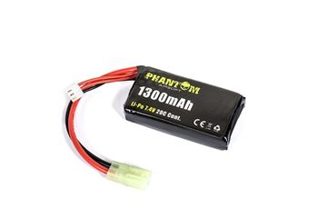 Picture of PHANTOM LI-PO 7.4V 1300MAH 20C ( mm 15 x 35 x 67 )